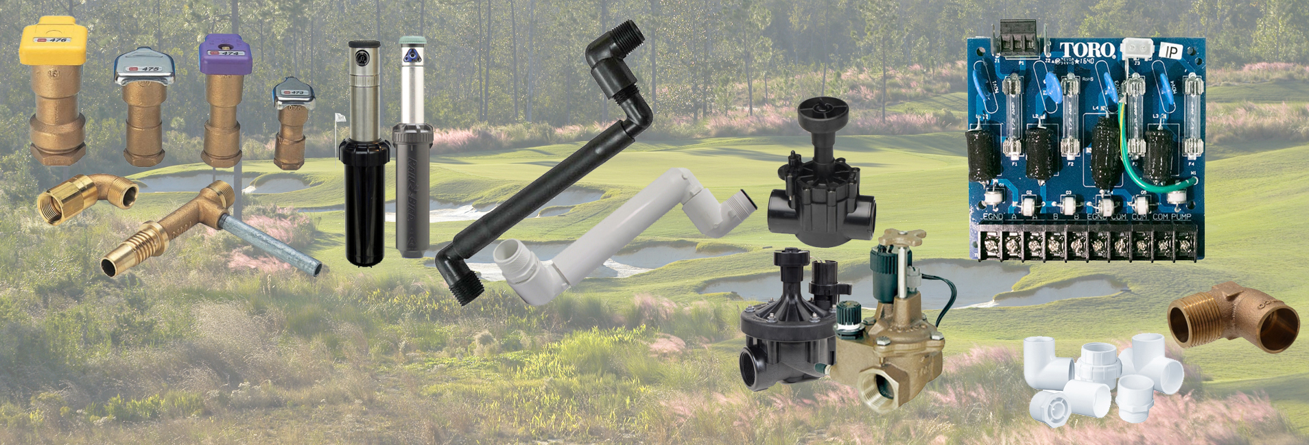 Irrigation Parts and Services - Jerry Pate Company